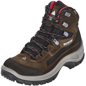 Dachstein Schober MC GTX Shoes Women dark brown/cranberry